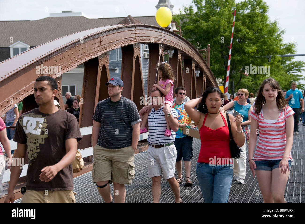 Fairport Canal Days festival. - Stock Image