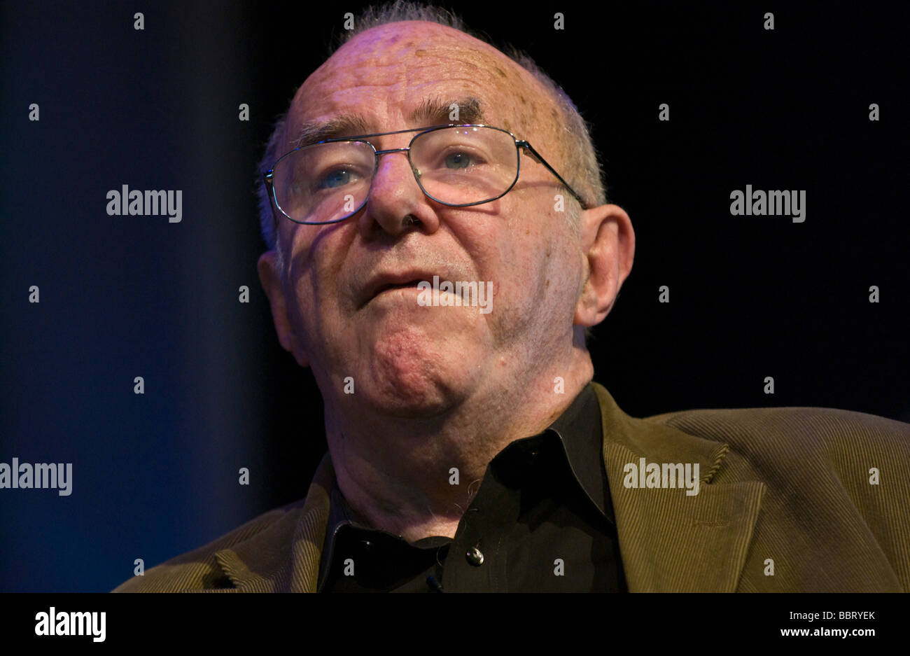 Clive James Australian author novelist poet critic and television presenter pictured at Hay Festival 2009  - Stock Image