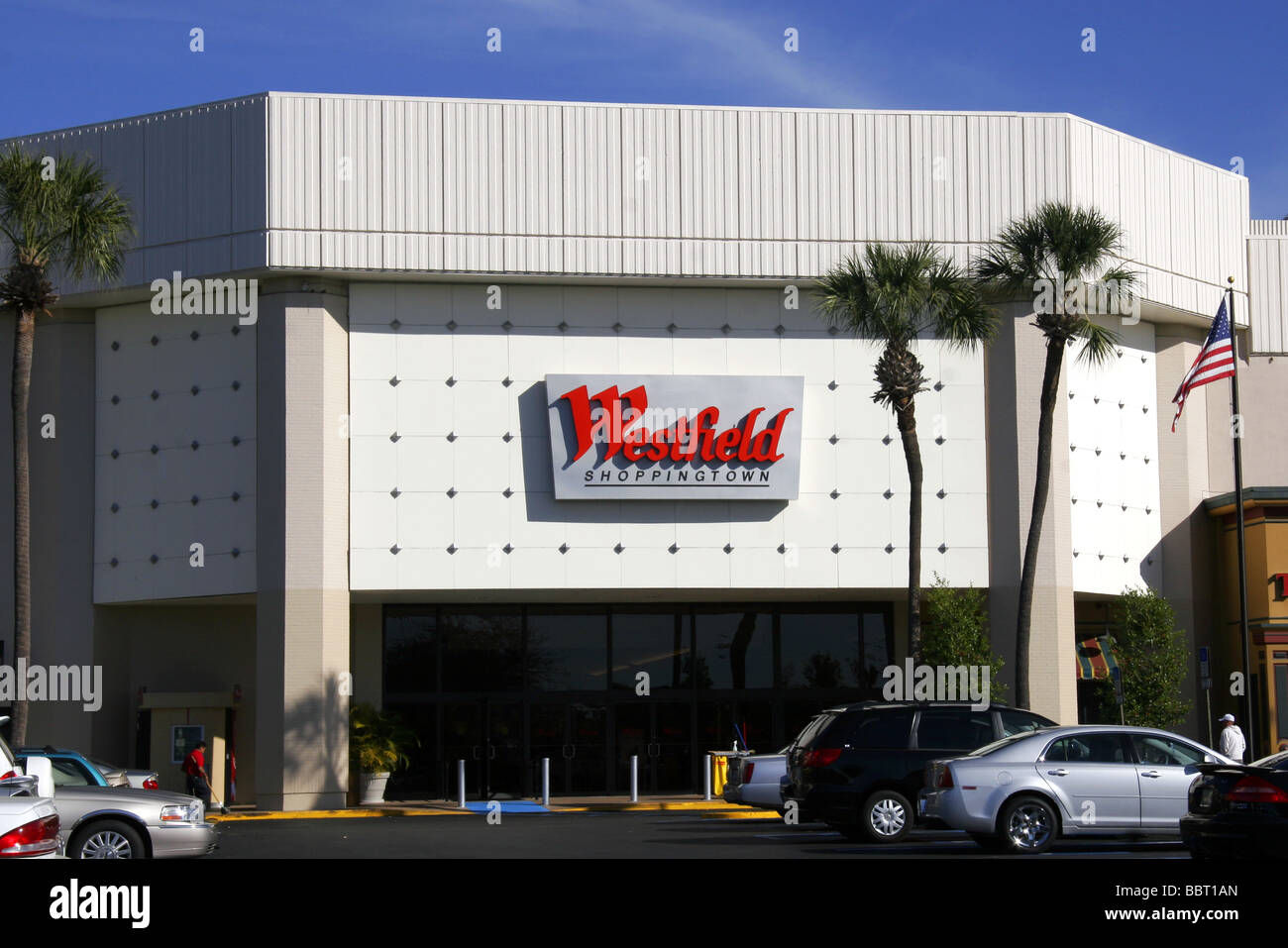Westfield Shopping Mall in Clearwater Florida USA - Stock Image