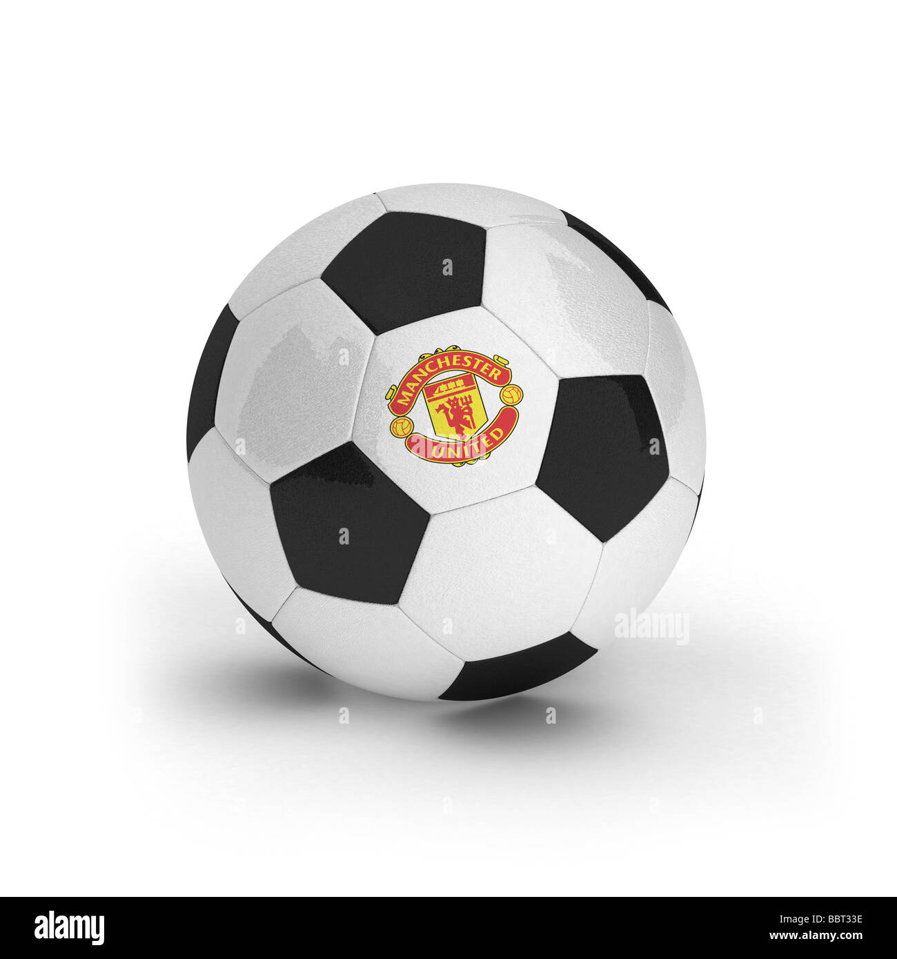 Manchester United football - Stock Image