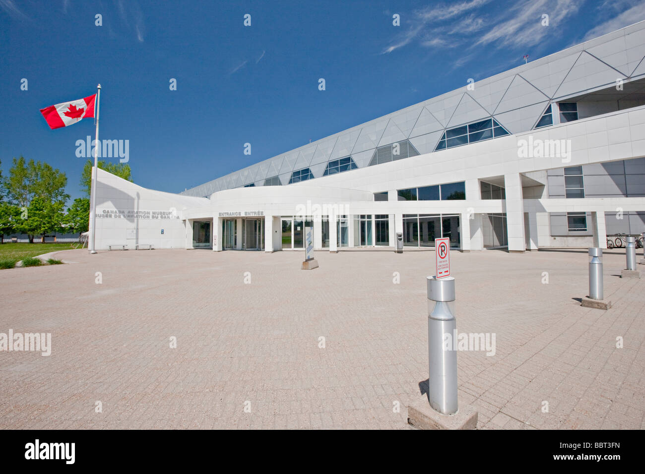 National Aviation Museum, Ottawa, Ontario, Canada - Stock Image