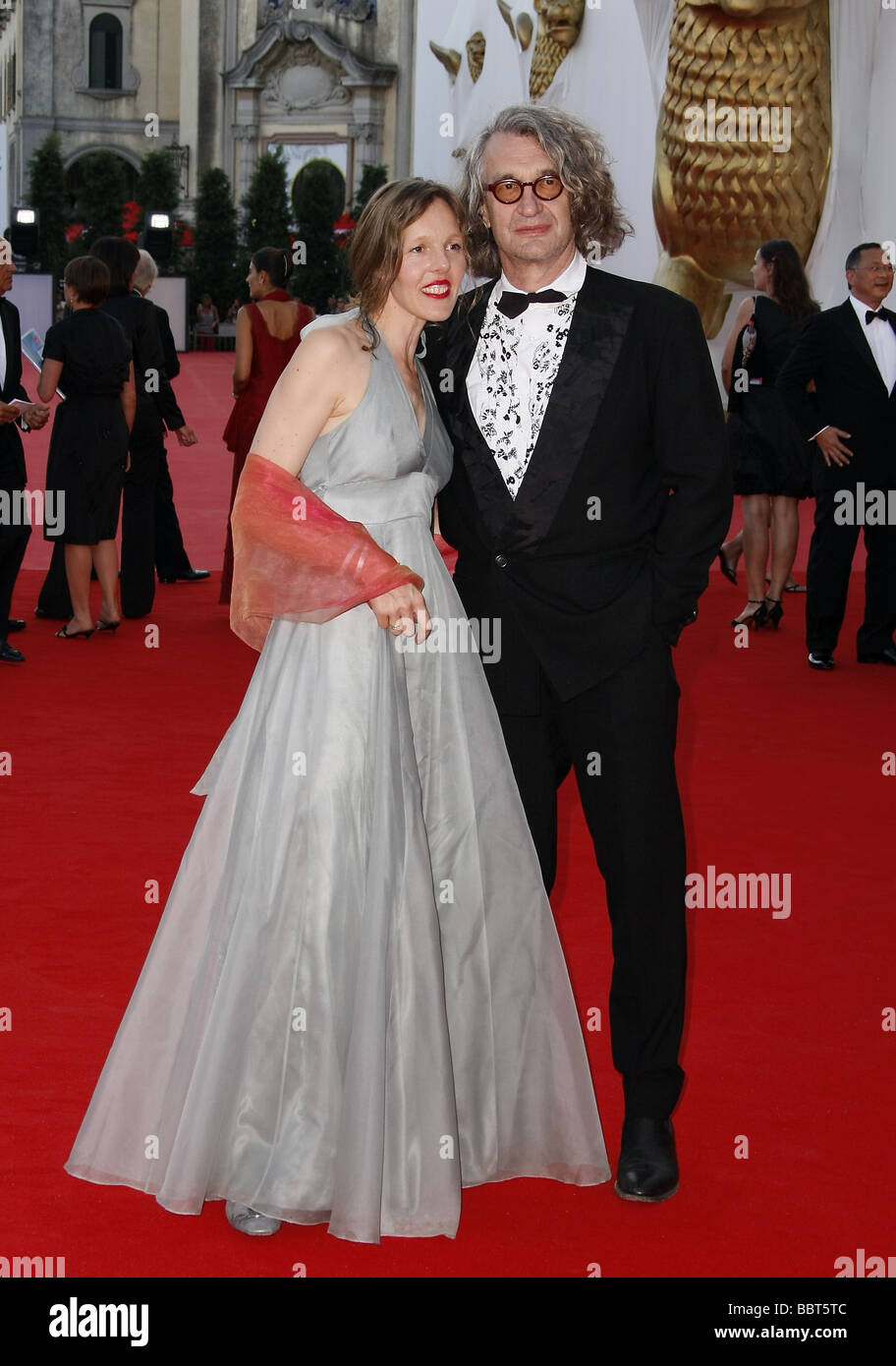 DONATA WENDERS & WIM WENDERS BURN AFTER READING PREMIERE. 65TH VENICE FILM FESTIVAL LIDO VENICE ITALY 27 August - Stock Image