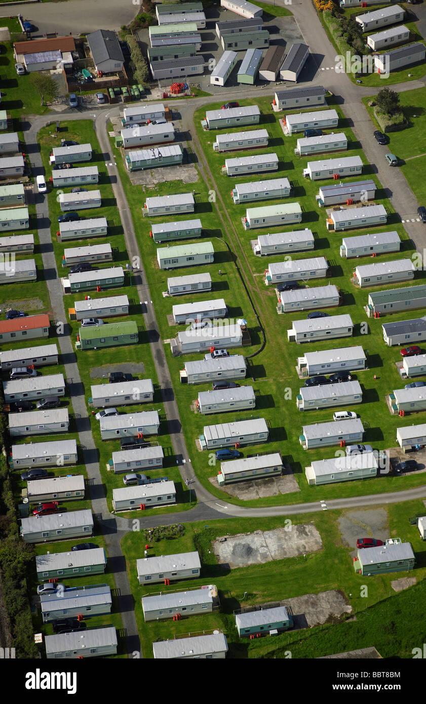 Holiday Park, Barmouth, North Wales, UK - Stock Image