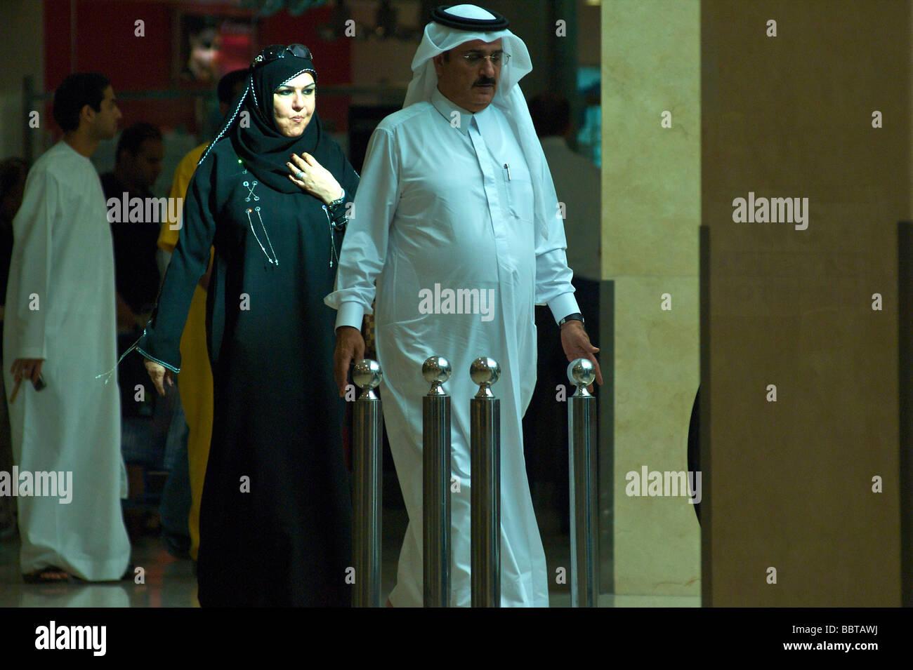 Dubai Deira shopping mall - Stock Image