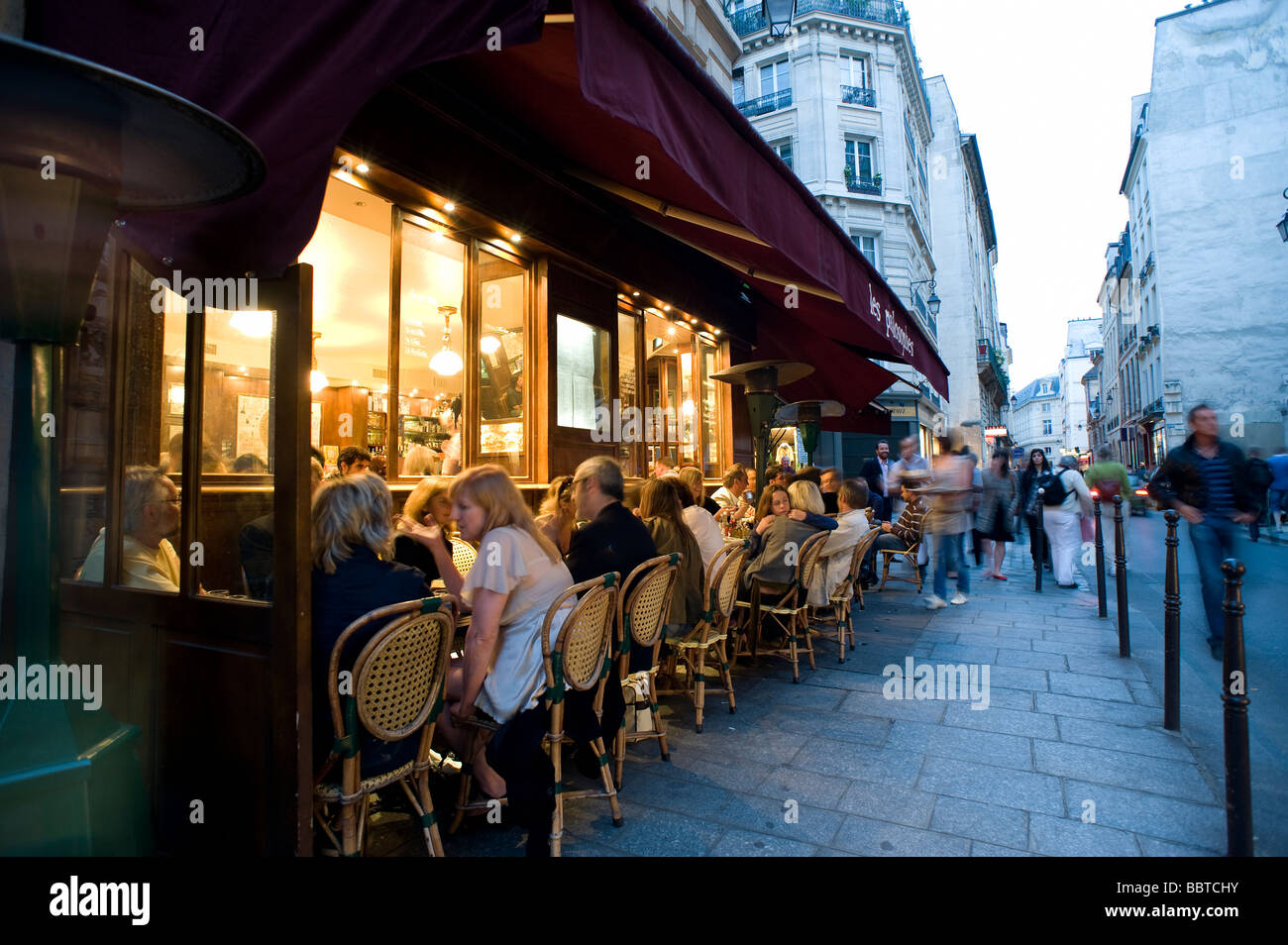 Paris Marais - Stock Image