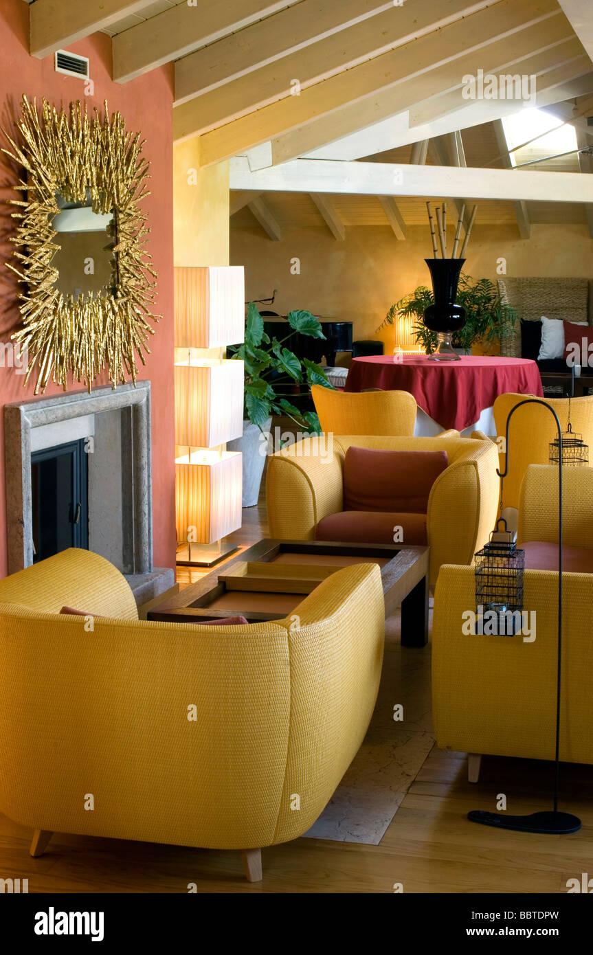 Interior lalbereta inn franciacorta lombardy italy