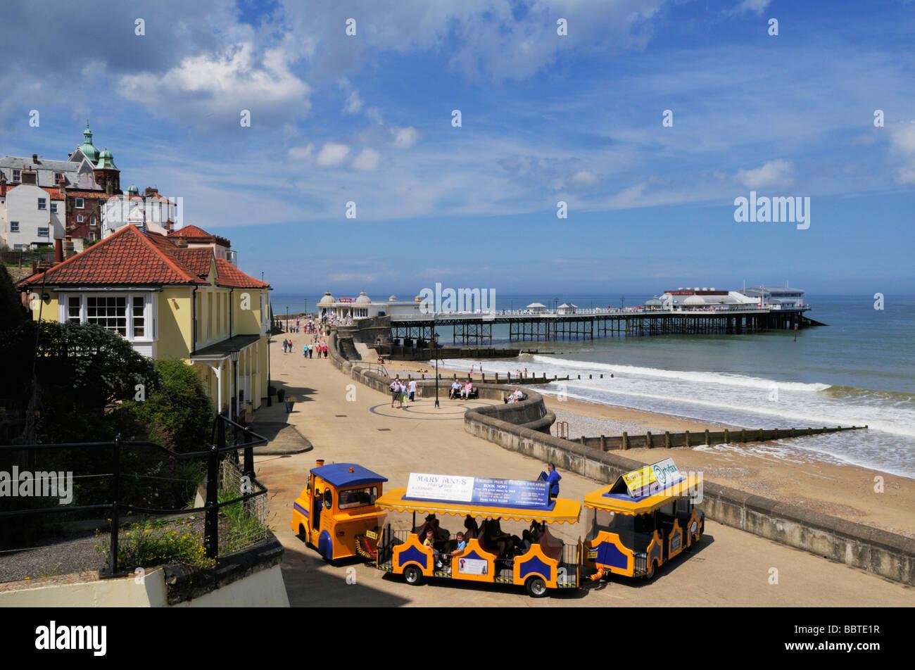 The Pier at Cromer Norfolk England UK - Stock Image