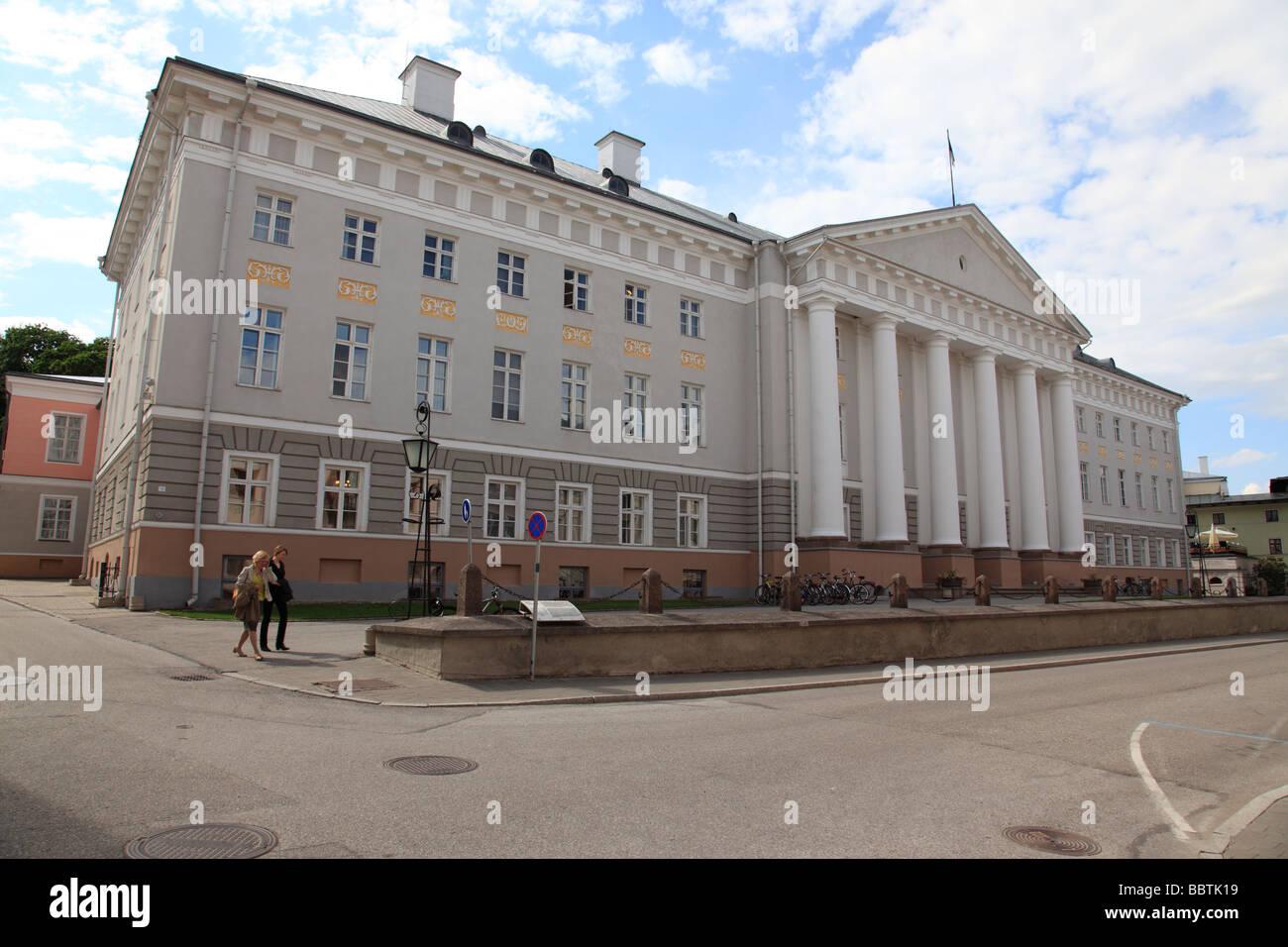 university of Tartu, Estonia, Baltic Nation, Eastern Europe. Photo by Willy Matheisl - Stock Image