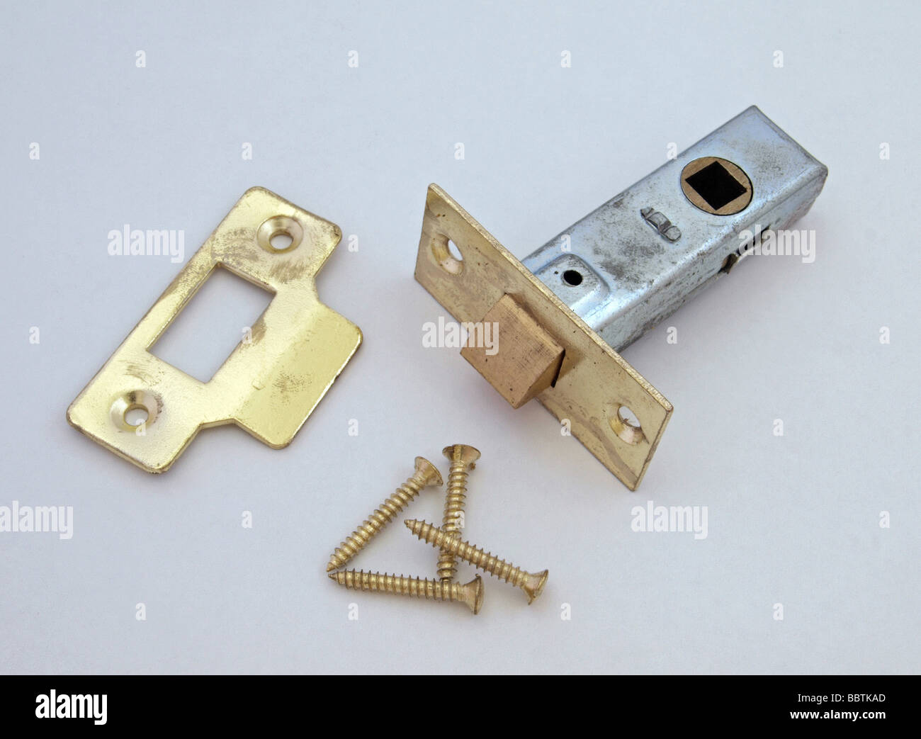 Lock to be fitted on an internal door - Stock Image