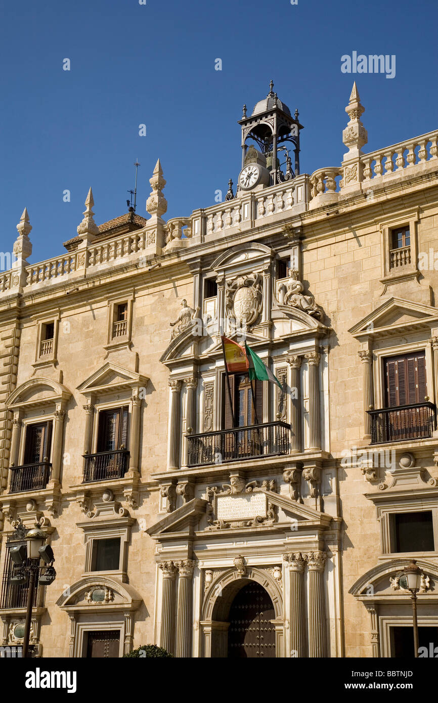 Royal Chancery Superior Court of Justice in Granada Andalusia Spain - Stock Image