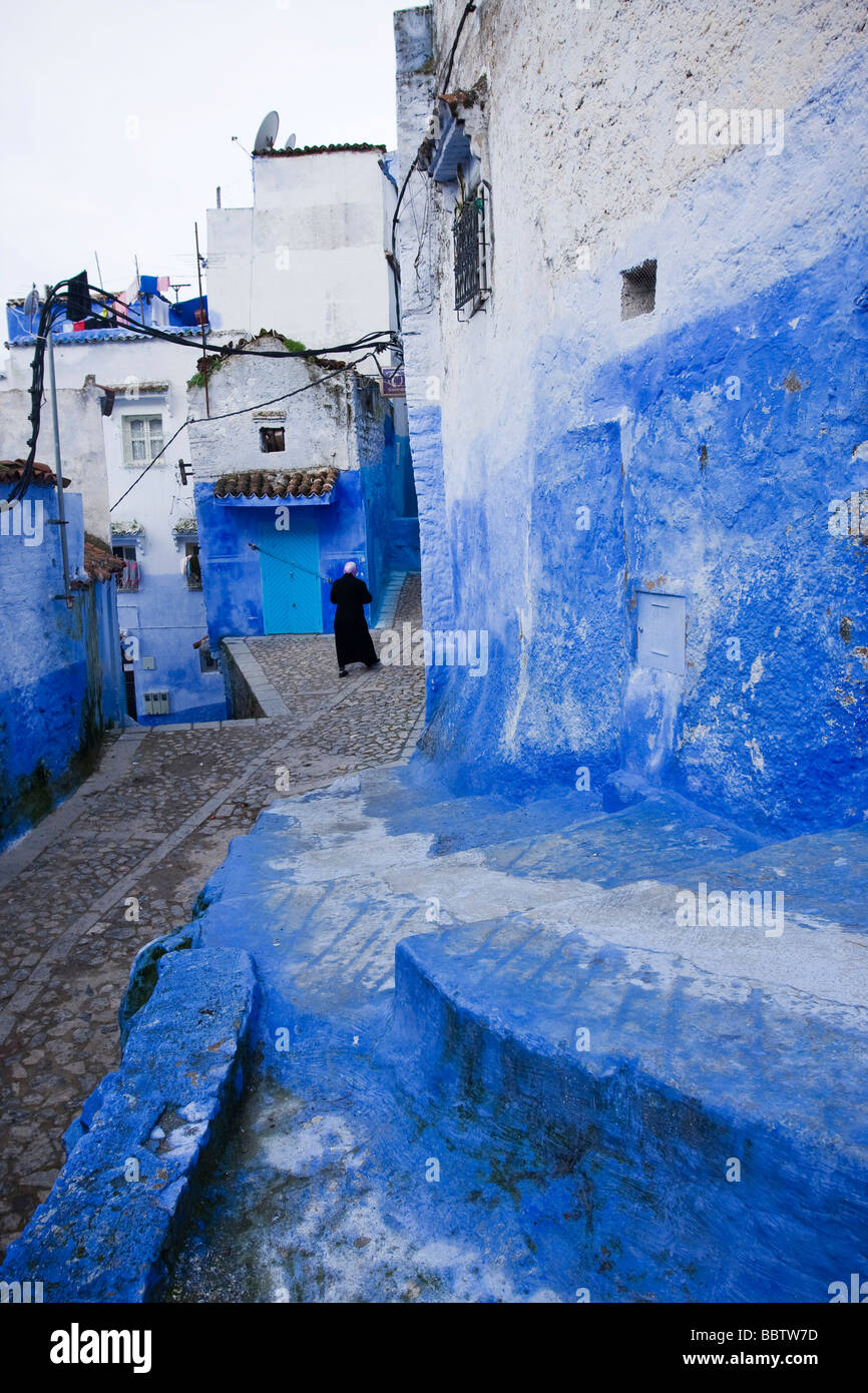 Chefchaouen, Morocco, North Africa - Stock Image