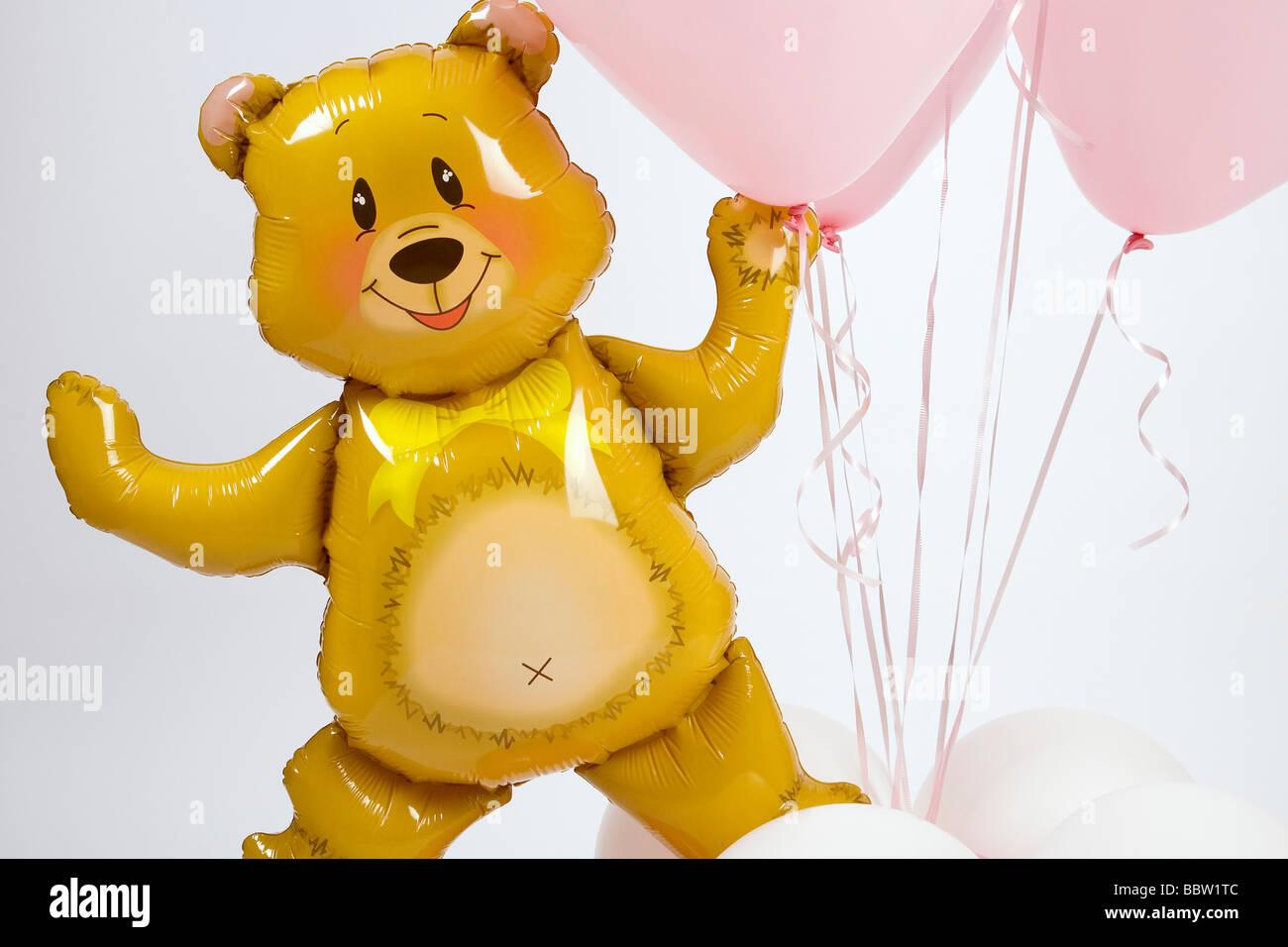 Globos para Fiestas y Regalos Balloons for Parties and Gifts - Stock Image