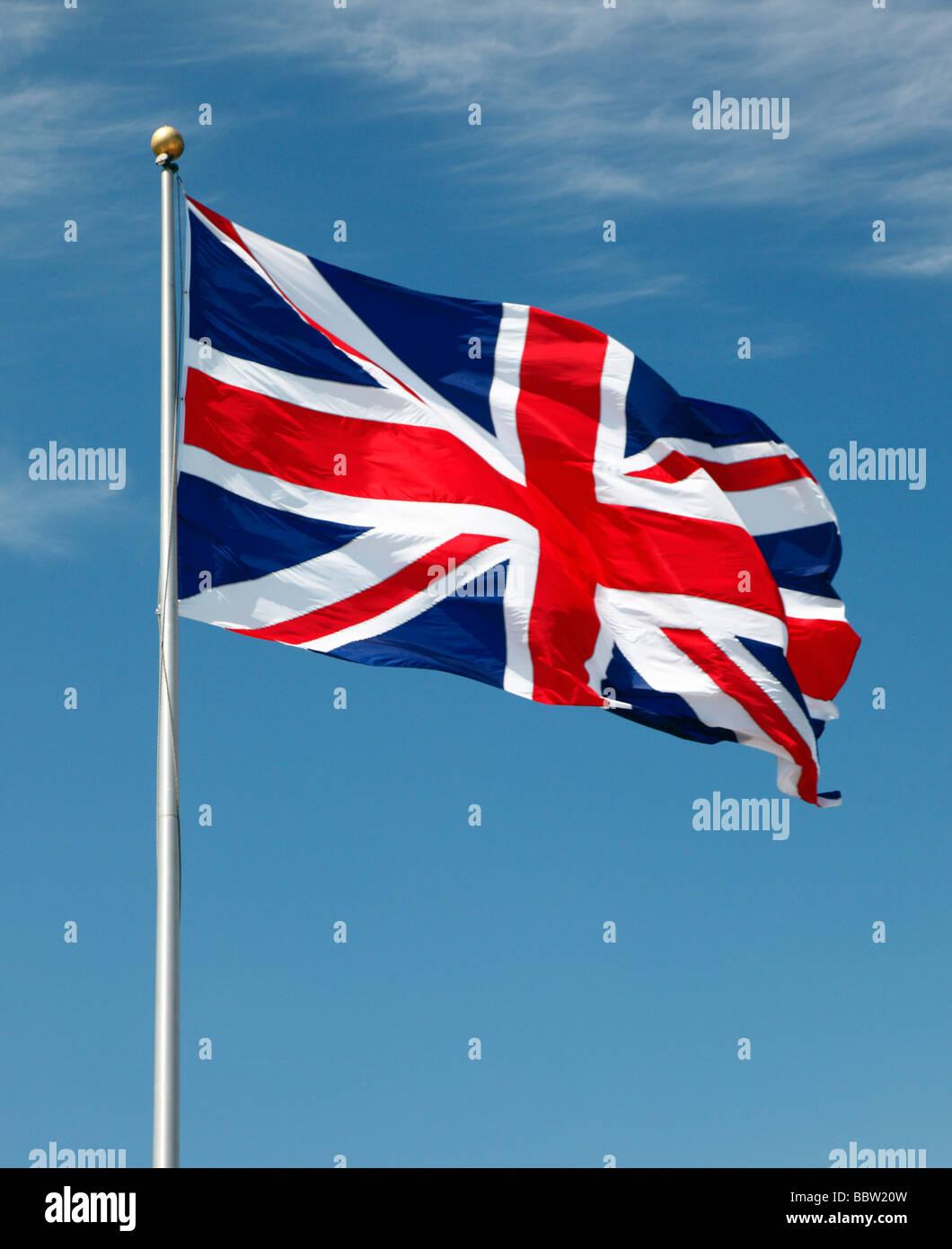 The Union Jack flag. - Stock Image