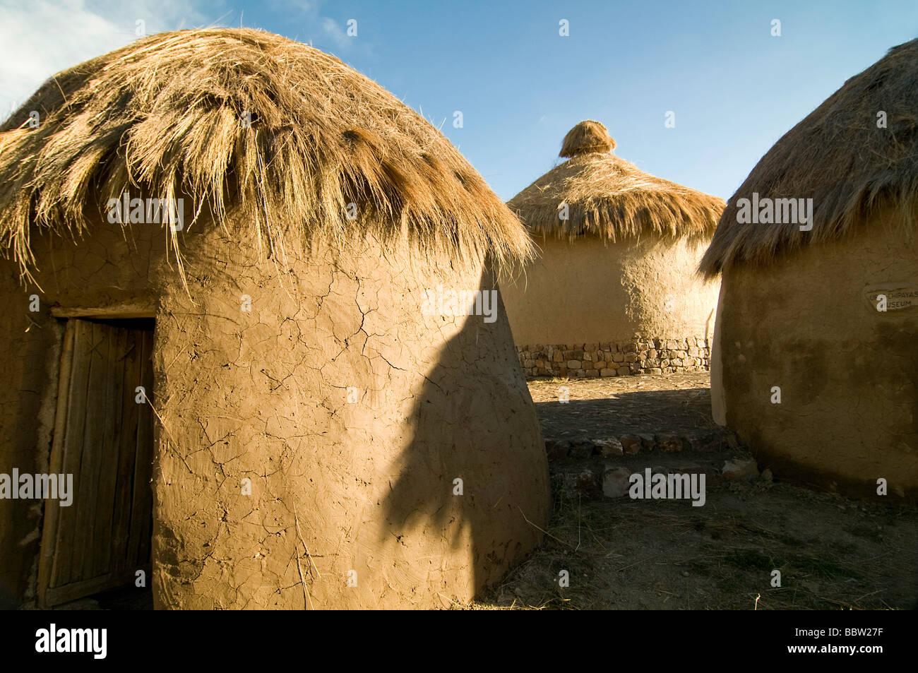 bolivia local architecture huts touristic destination south america