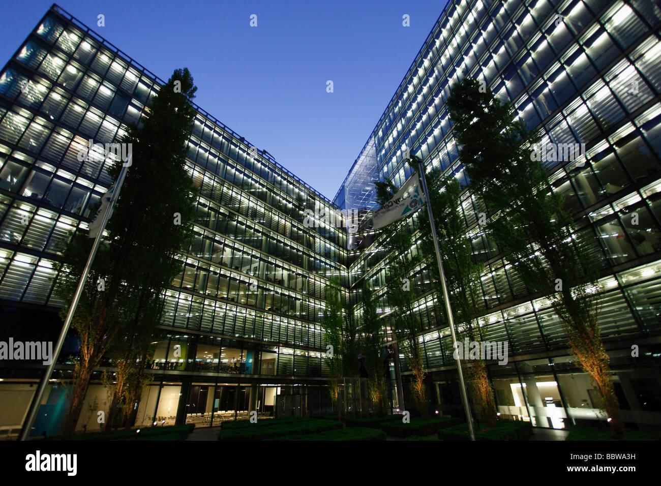 Germany berlin potsdamer platz modern architecture office building