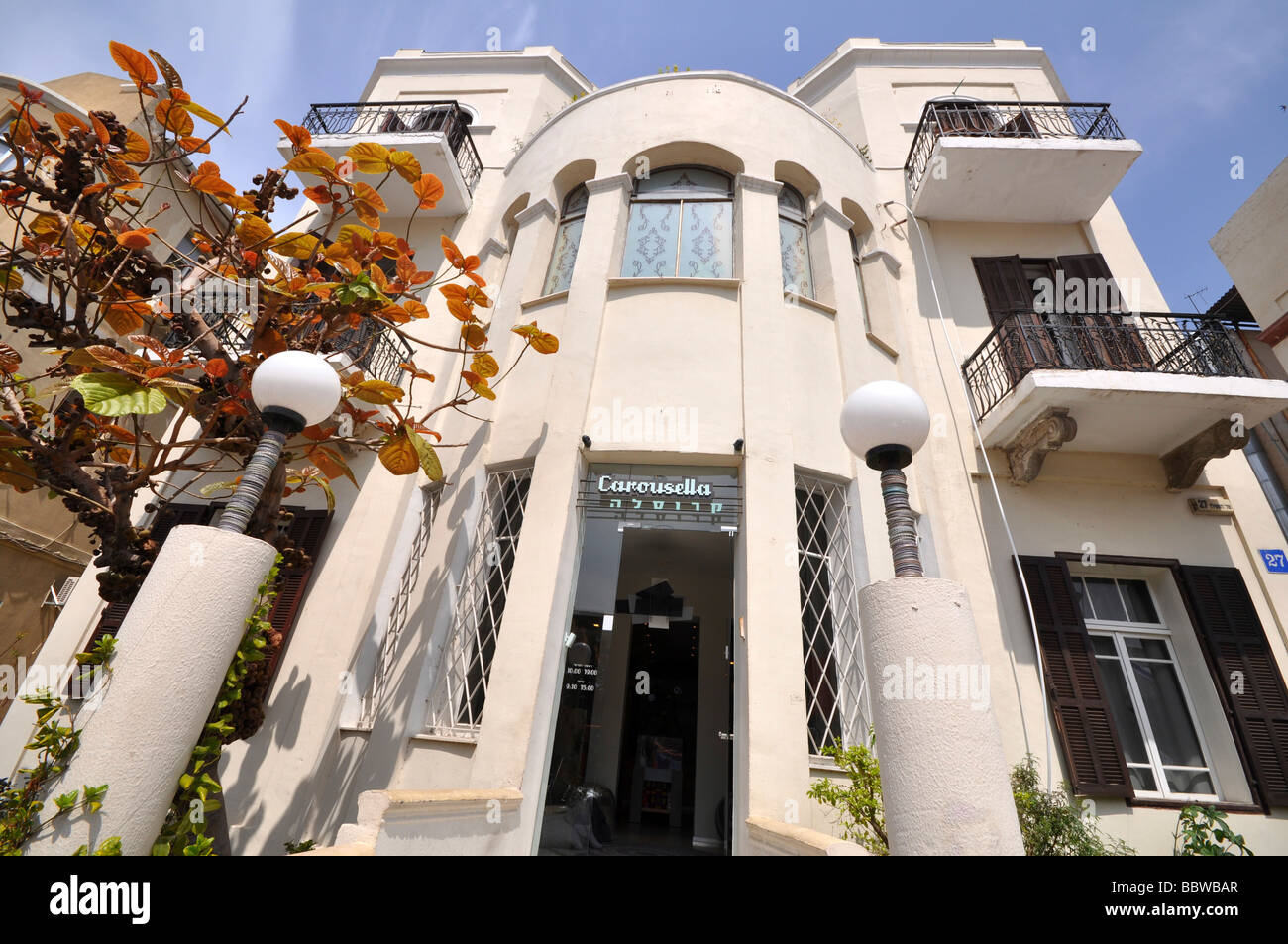 Israel Tel Aviv Rothschild boulevard number 27 - Stock Image