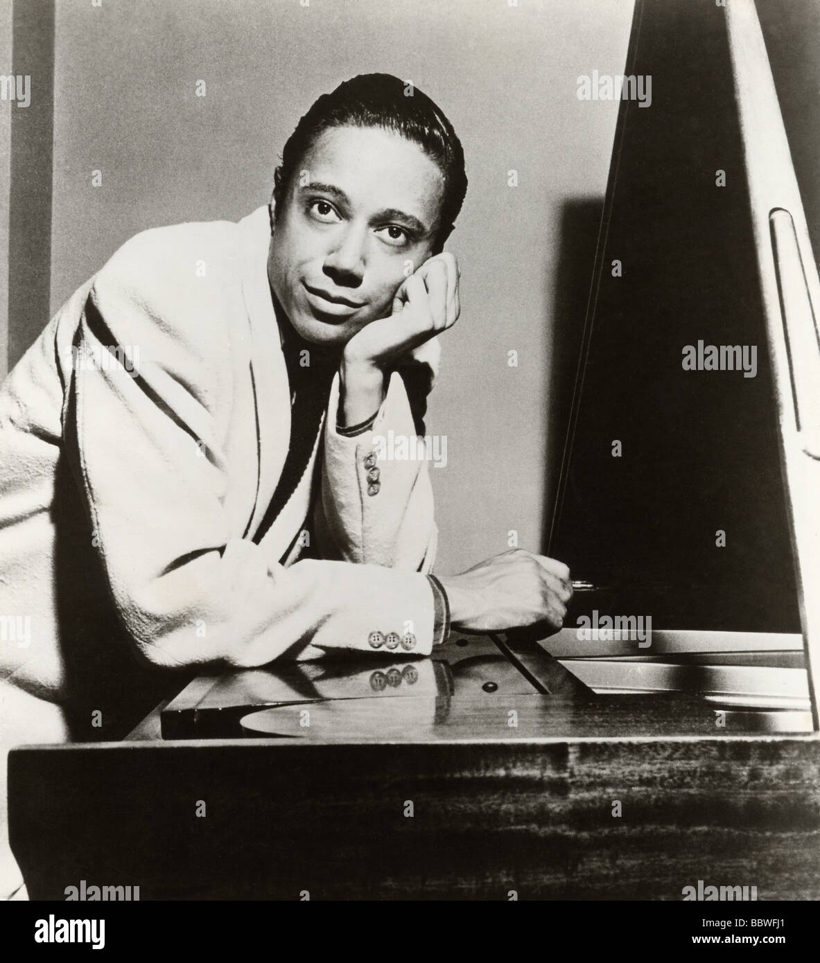 HORACE SILVER  - US pianist - Stock Image