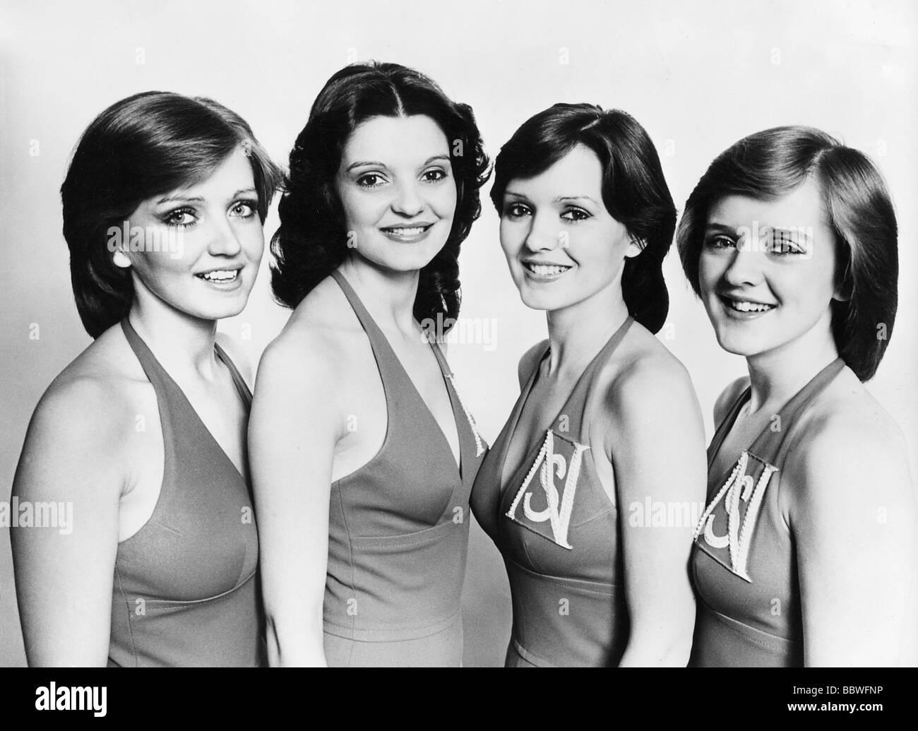 NOLAN SISTERS - UK pop group Stock Photo: 24532754 - Alamy