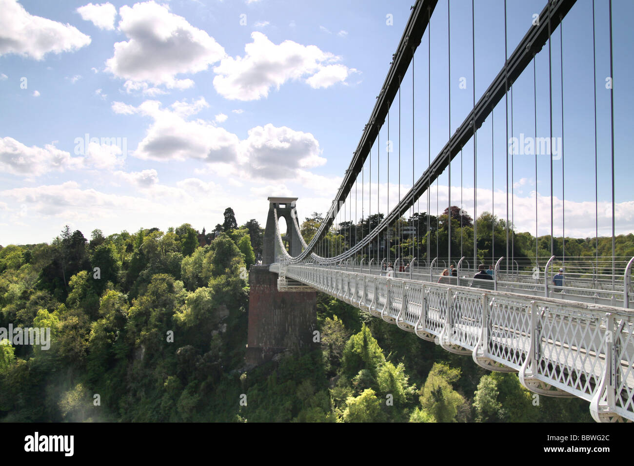 clifton suspension bridge - Stock Image