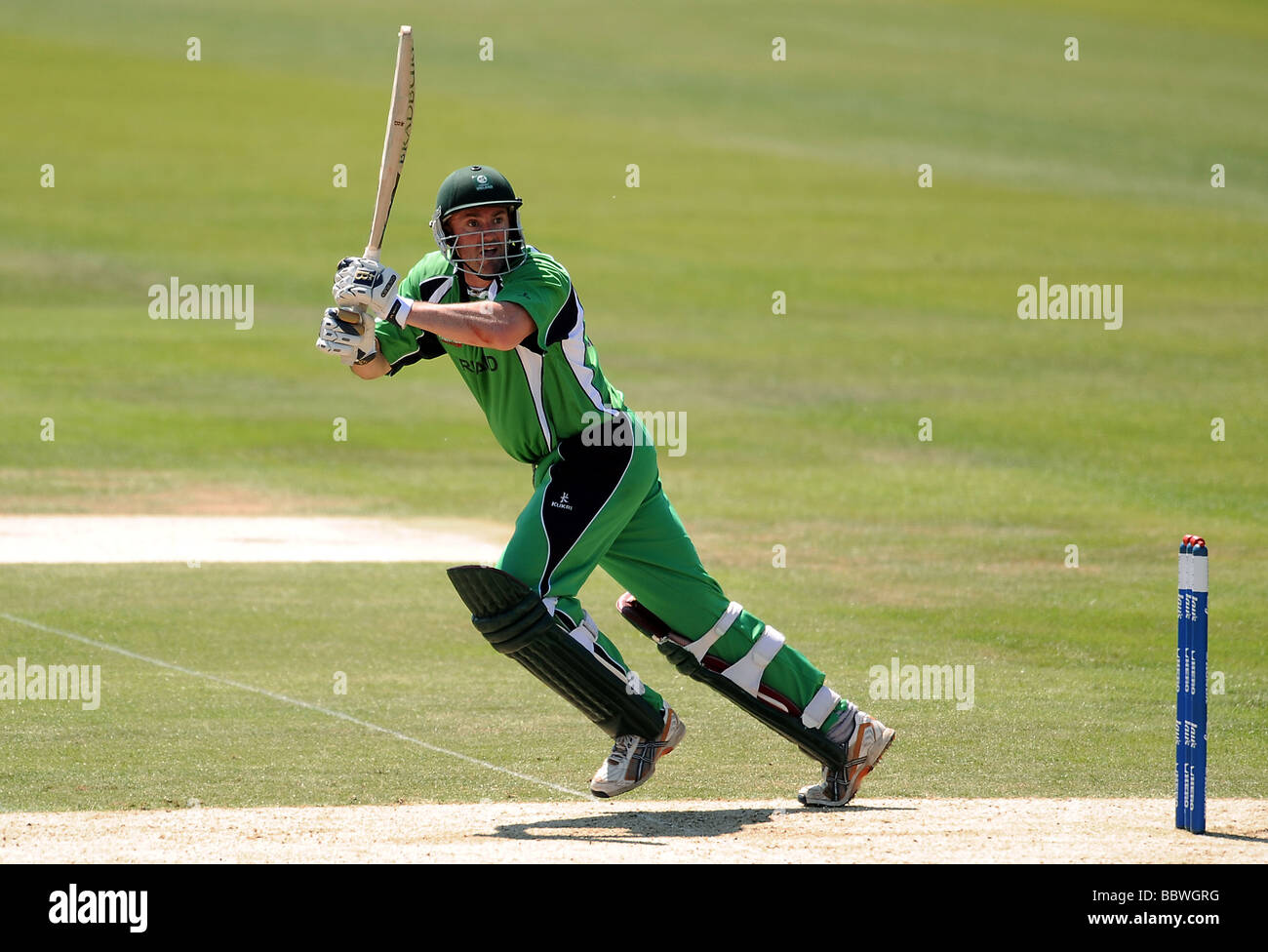 ANDRE BOTHA IRELAND V WEST INDIES THE OVAL LONDON ENGLAND 02 June 2009 - Stock Image