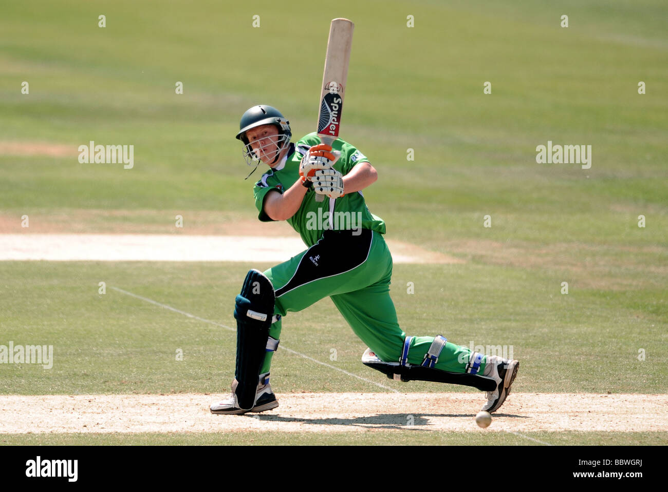 KEVIN O'BRIEN IRELAND V WEST INDIES THE OVAL LONDON ENGLAND 02 June 2009 - Stock Image