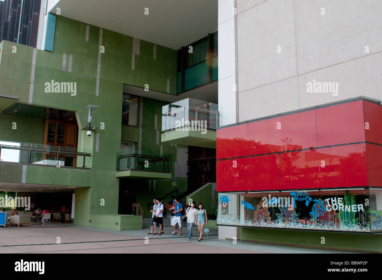 Exterior of GOMA, Gallery of Modern Art, Brisbane, Australia - Stock Image