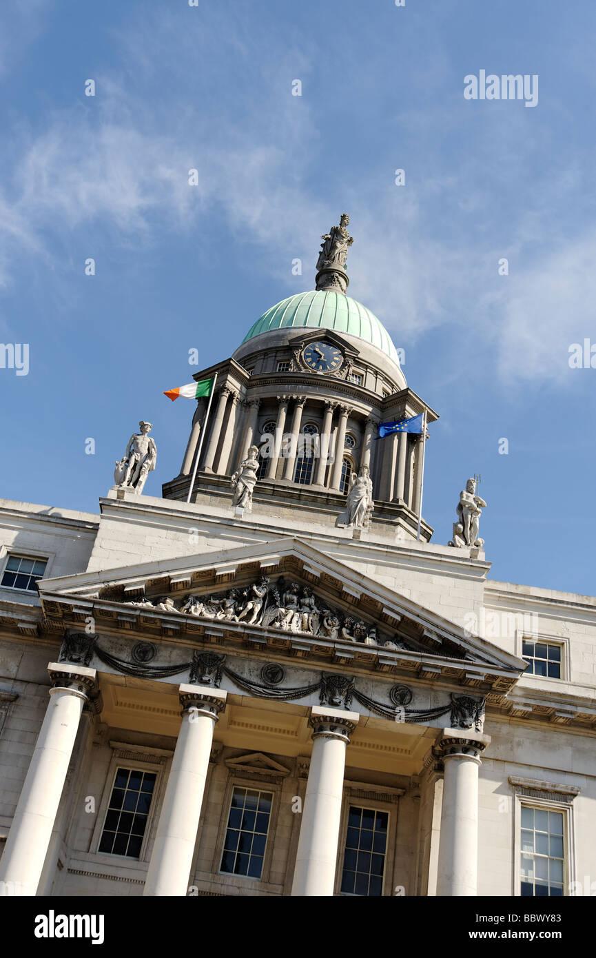 Custom House building Dublin Republic of Ireland - Stock Image