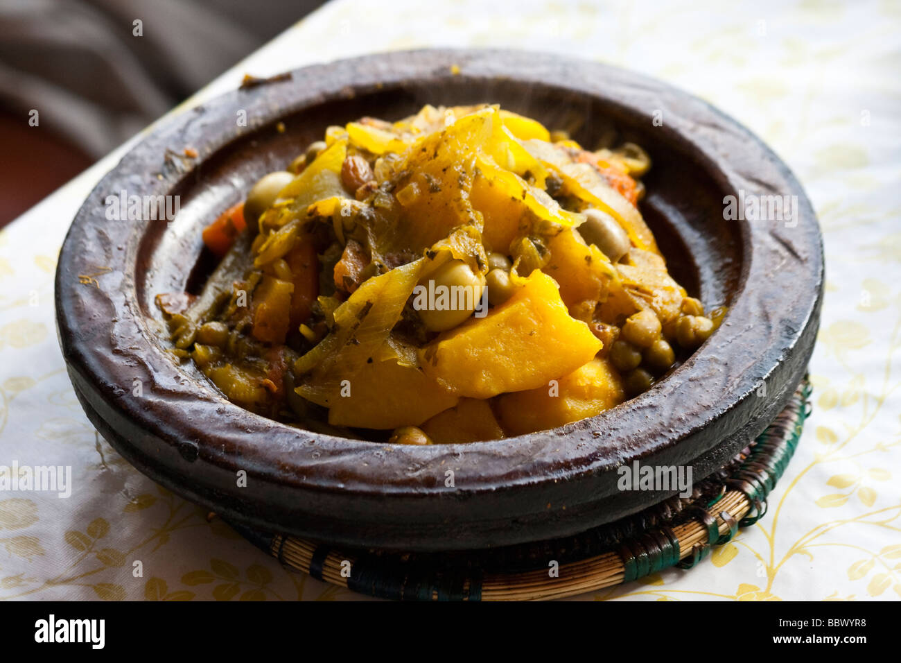 Tagine in Rabat Morocco - Stock Image