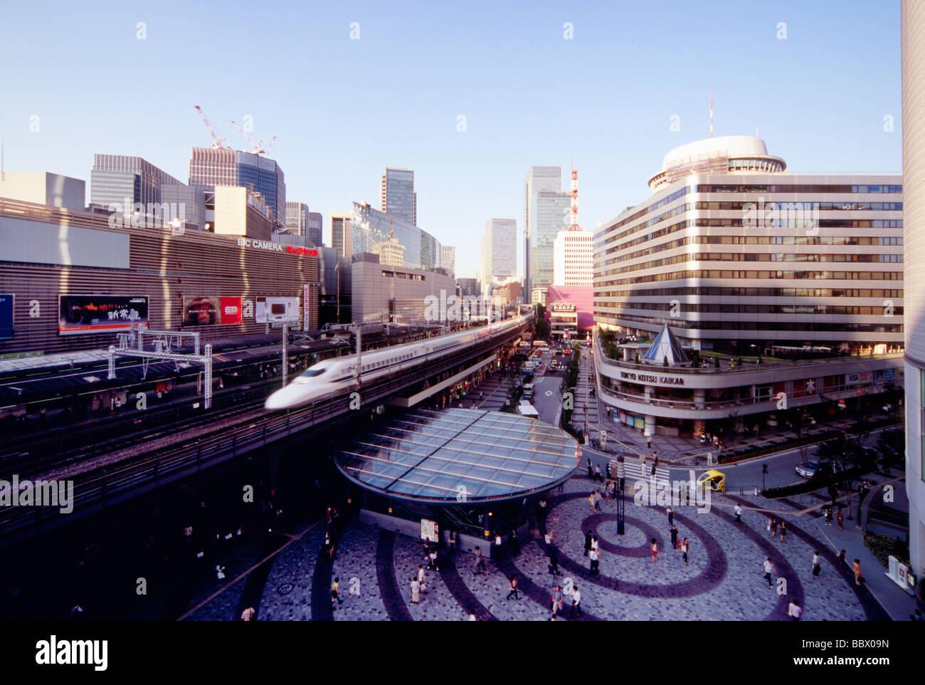 Yurakucho Station, Tokyo, Japan Stock Photo