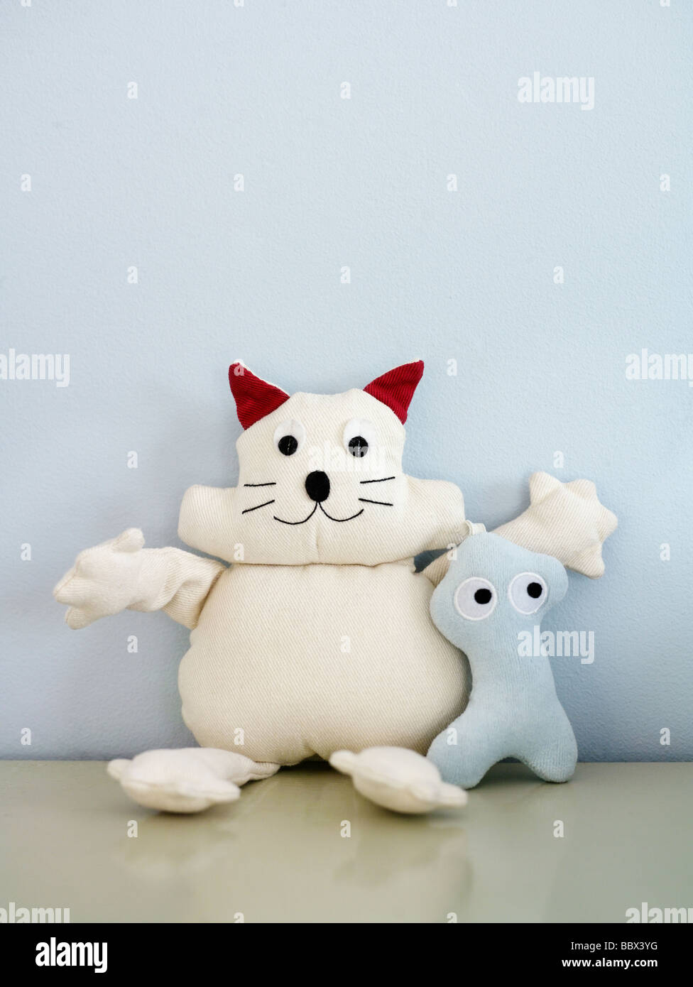 A soft cuddly toy Sweden. - Stock Image