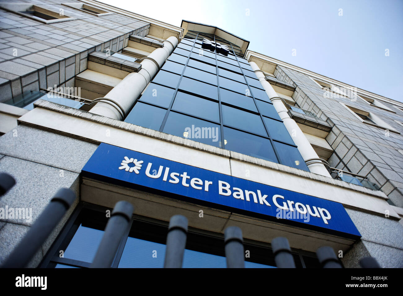 The Ulster Bank Group centre at George s Quay Dublin Republic of Ireland - Stock Image
