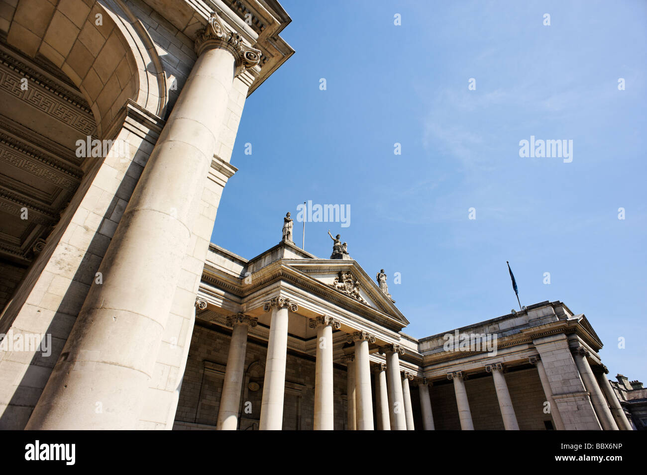 The Bank of Ireland Dublin Republic of Ireland - Stock Image