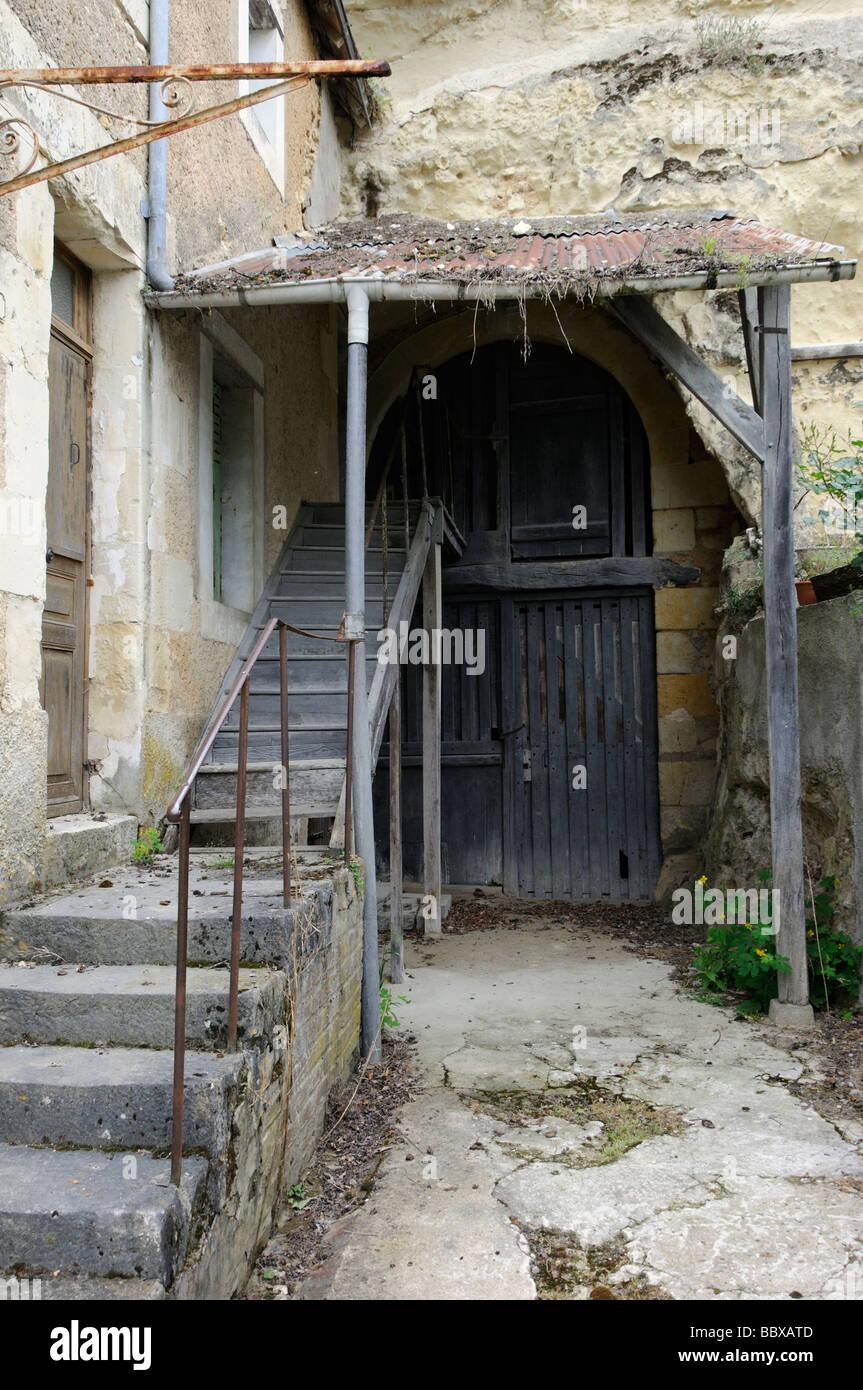 Rustic charm, Trôo, Loir-et-Cher, Centre, France. Stock Photo