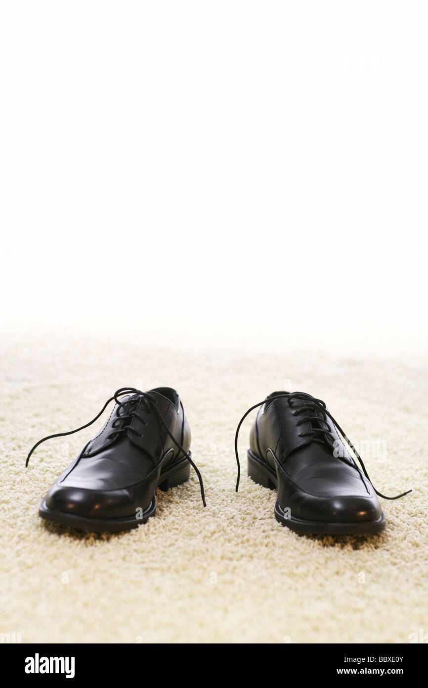 A pair of shoes. - Stock Image