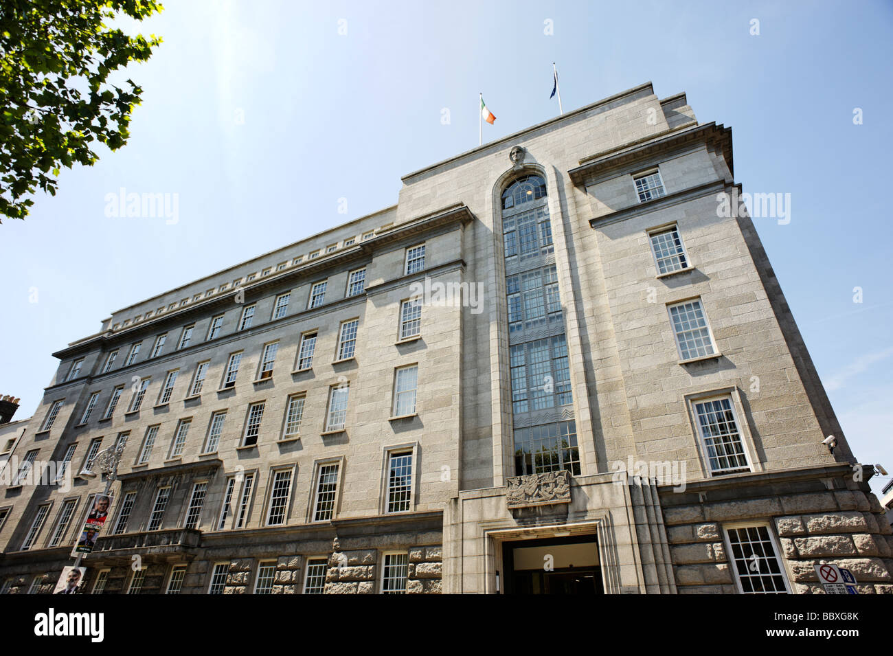 Department of Enterprise Trade and Employment building DETE Dublin Republic of Ireland - Stock Image