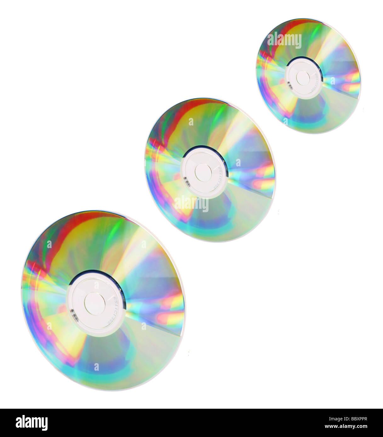 Compact Discs - Stock Image
