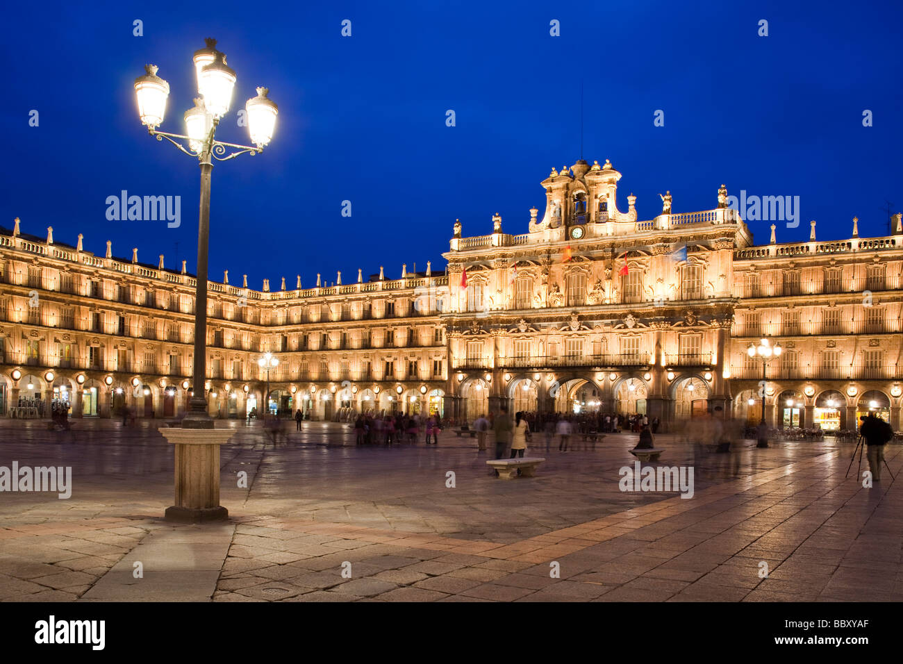 Plaza Mayor, Salamanca, Spain - Stock Image