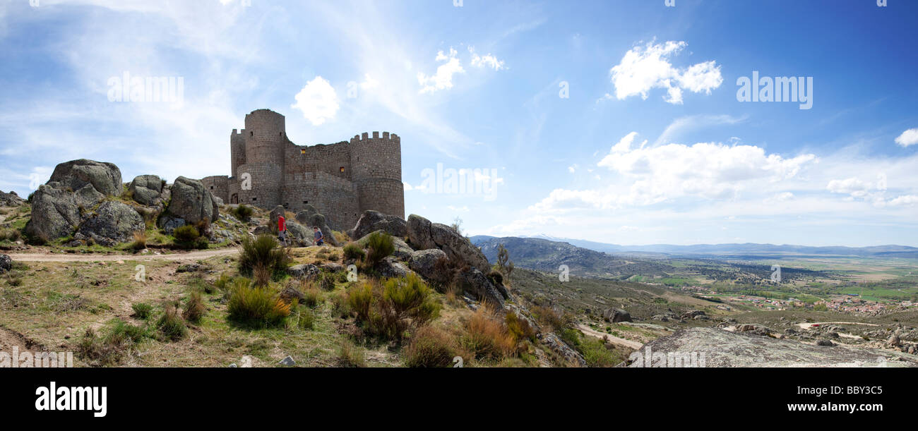 Castilla y Leon, Near Avila, Spain - Stock Image