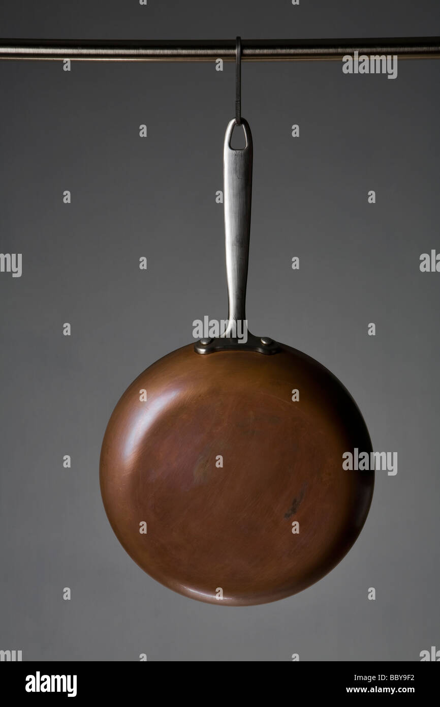 pots and pans - Stock Image