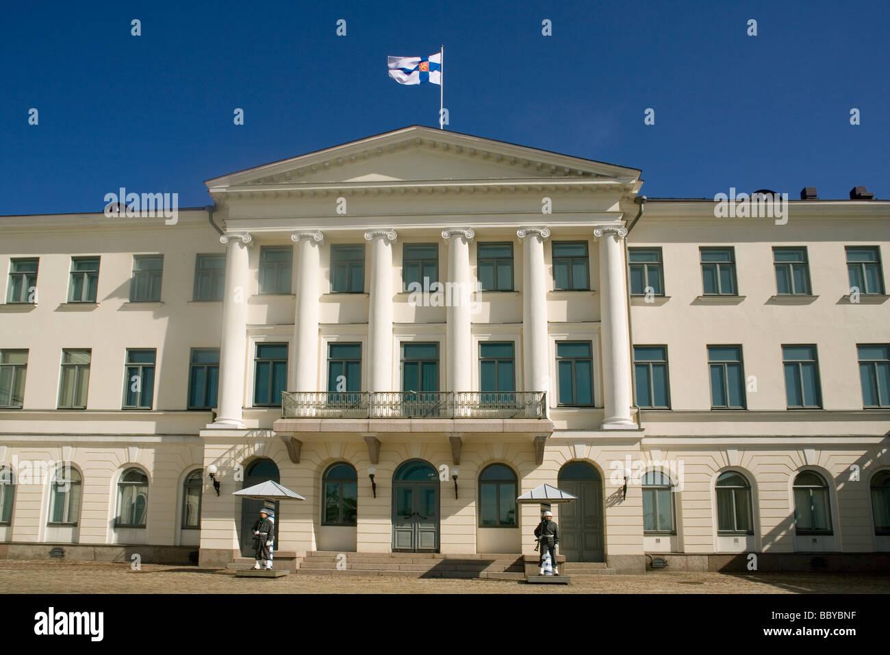 Finland Helsinki President's Palace - Stock Image