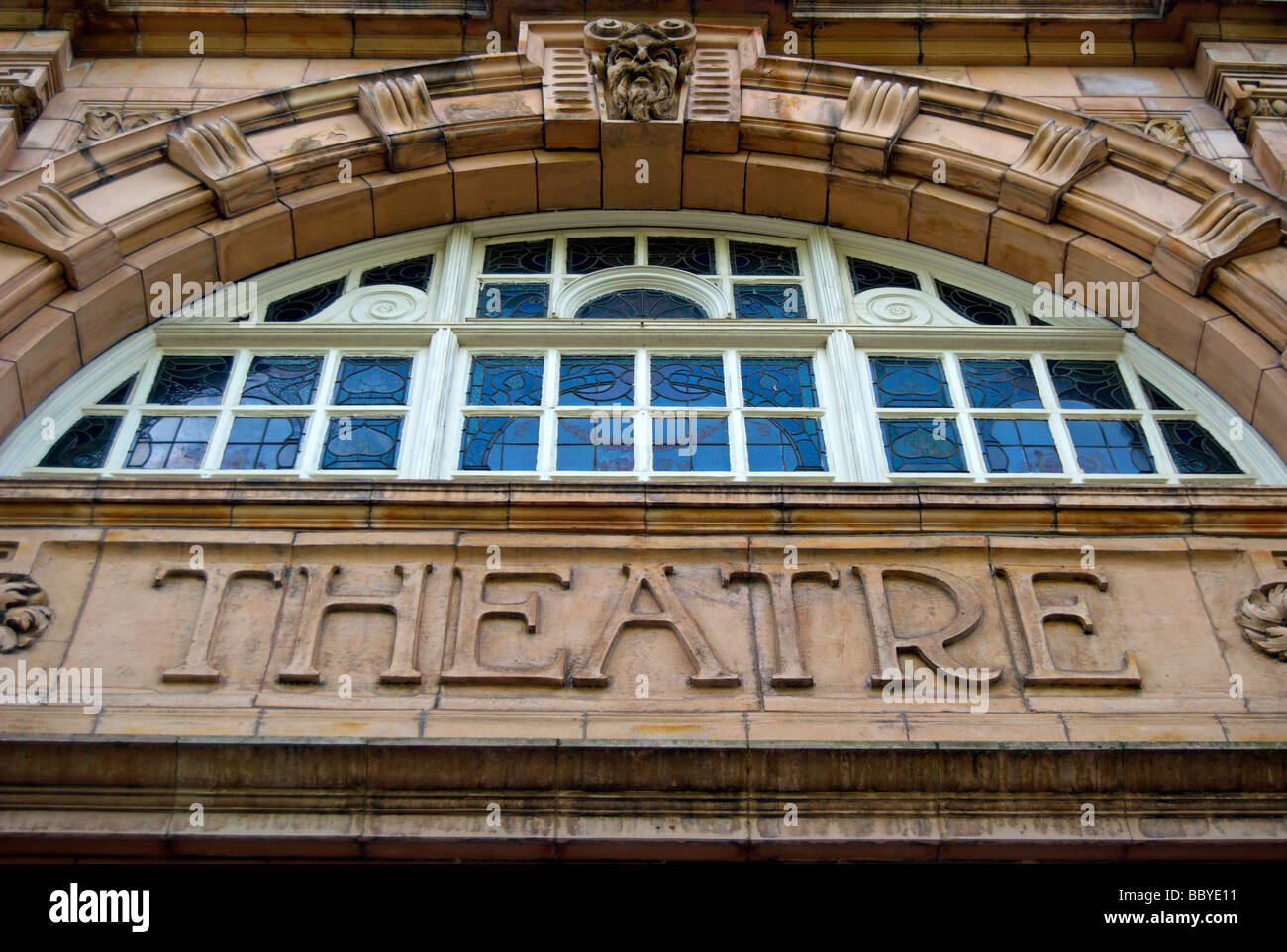 exterior of the richmond theatre, richmond upon thames, surrey, england, designed by the noted theatre designer - Stock Image