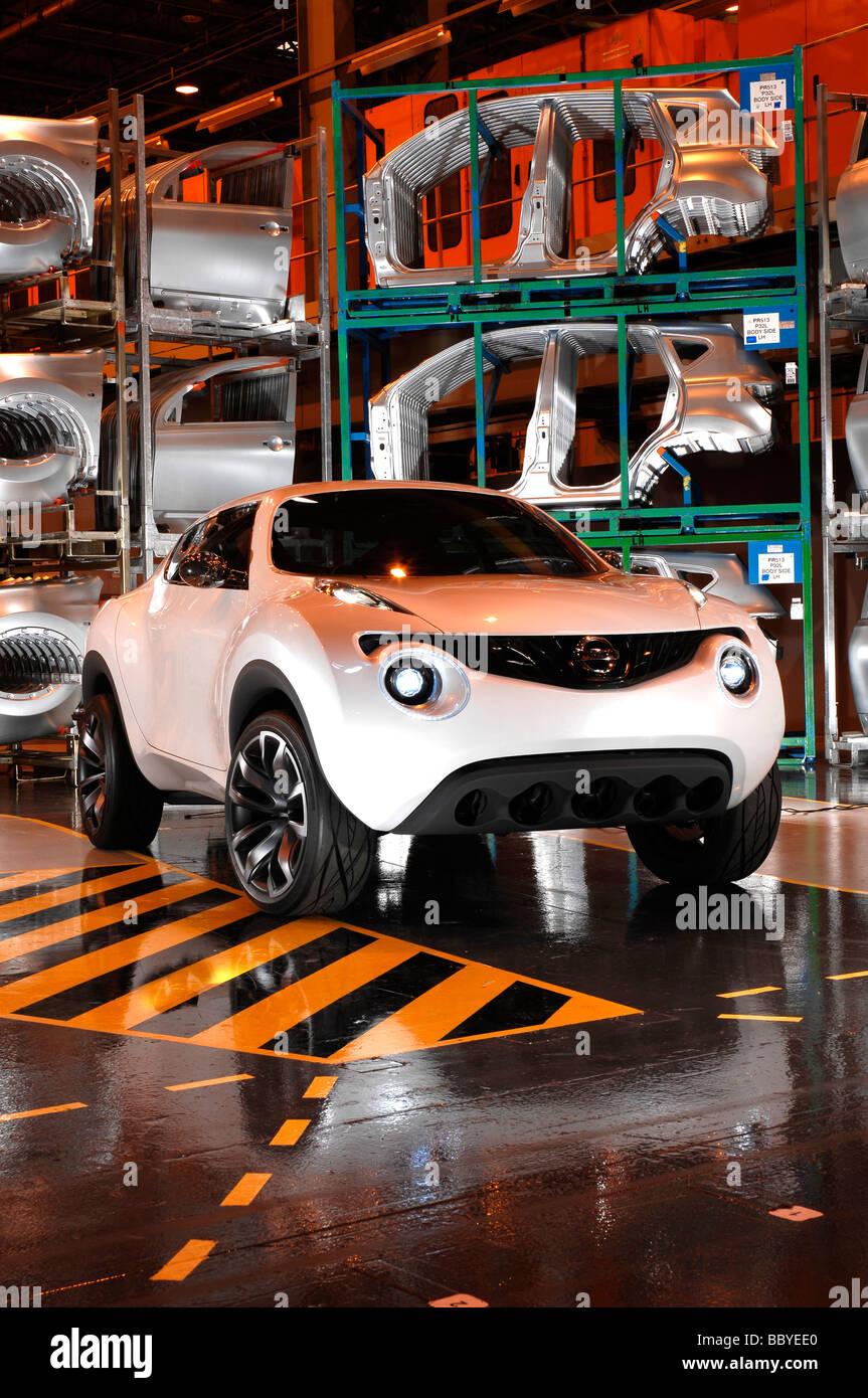 Nissan Qazana 2009 Stock Photo 24575656 Alamy