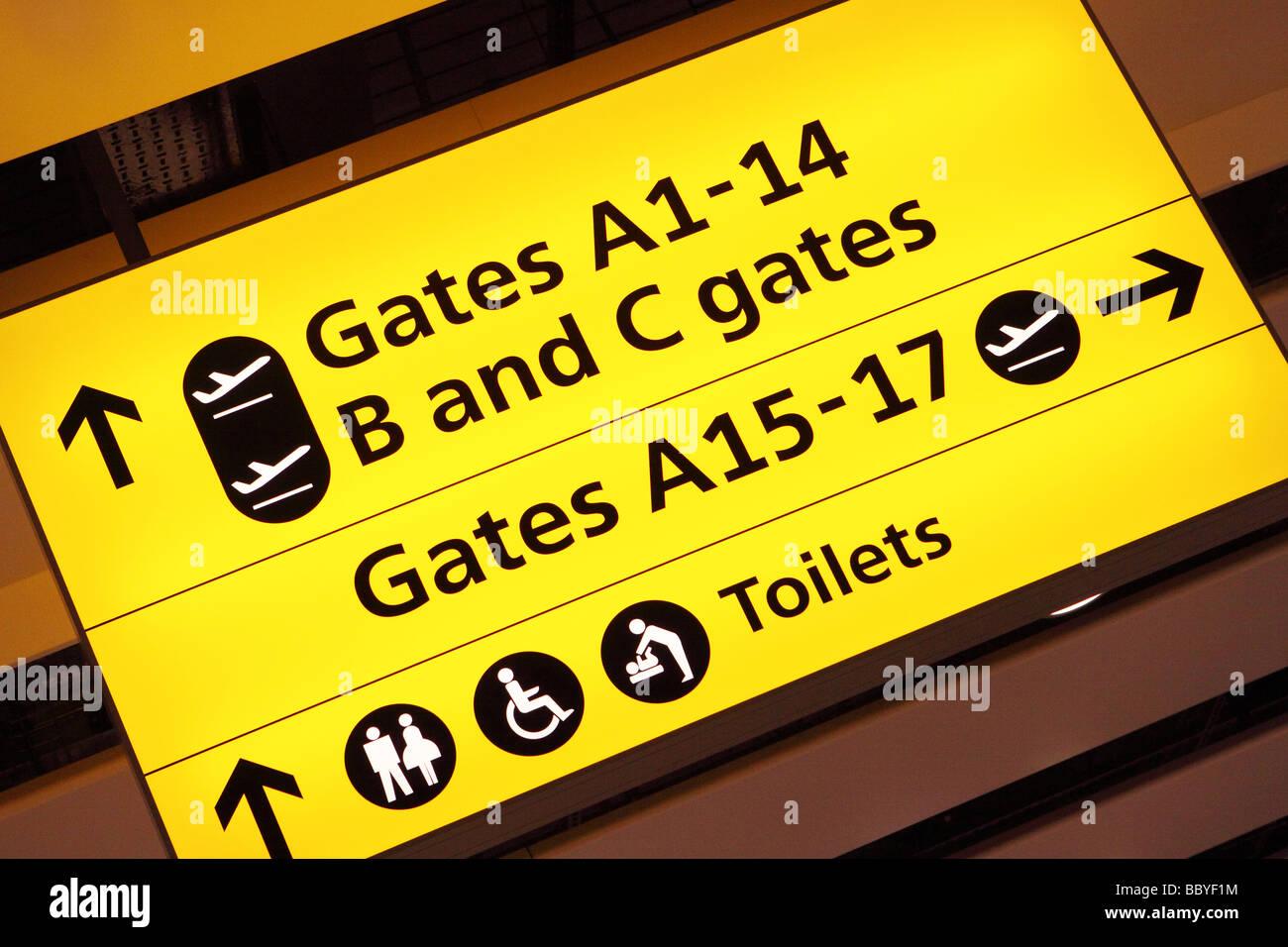 Airport Terminal Departure Gate Gates Information