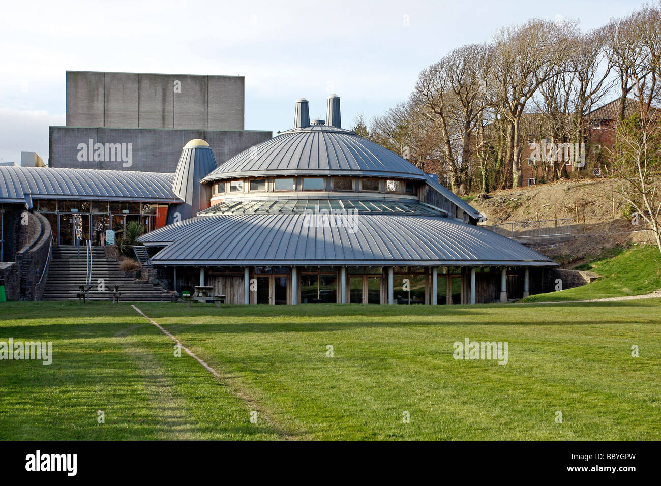 Aberystwyth Arts Centre Aberystwyth University Ceredigion West Wales UK Stock Photo
