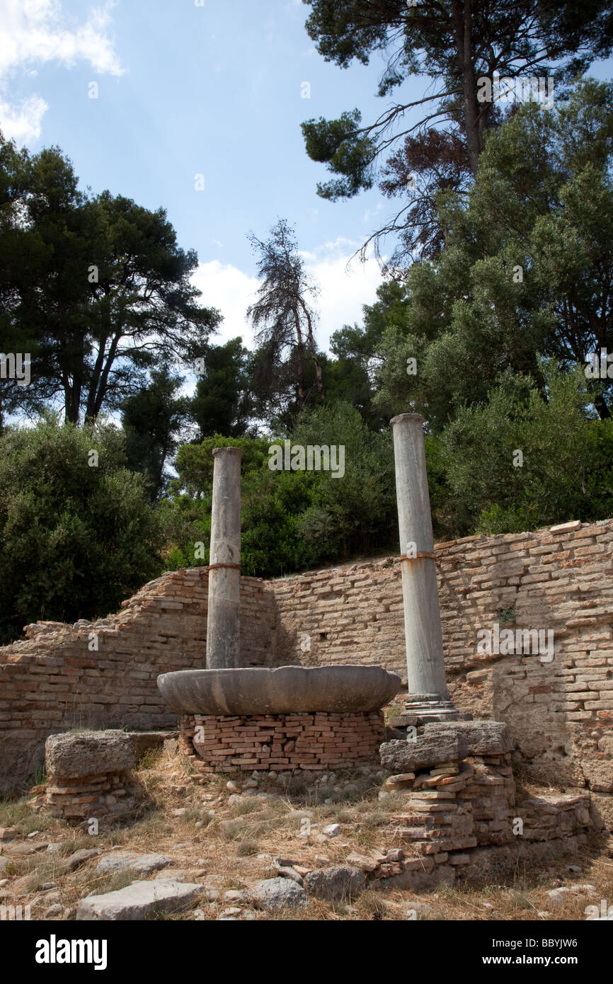 Ancient Olympia - Stock Image