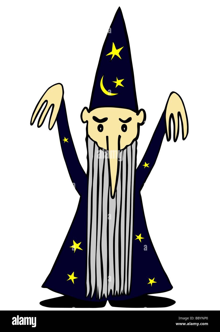 magician - Stock Image