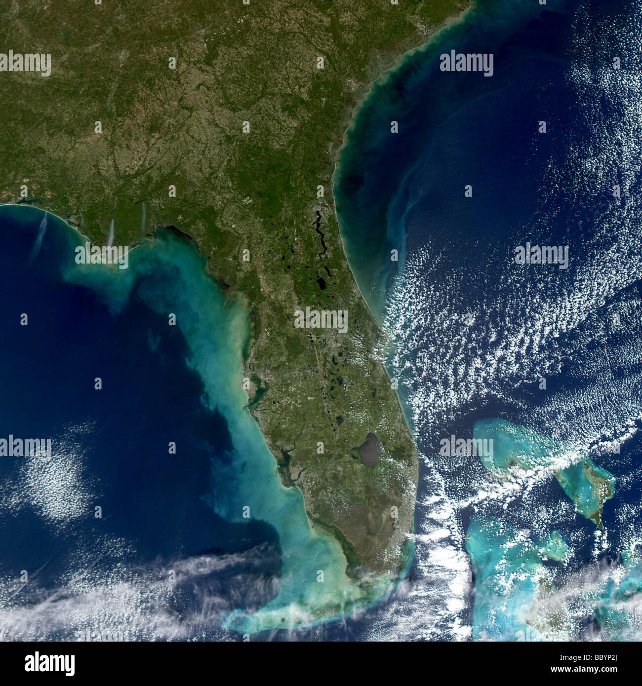 Satellite View Of The Gulf Coast Stock Photos & Satellite ... on
