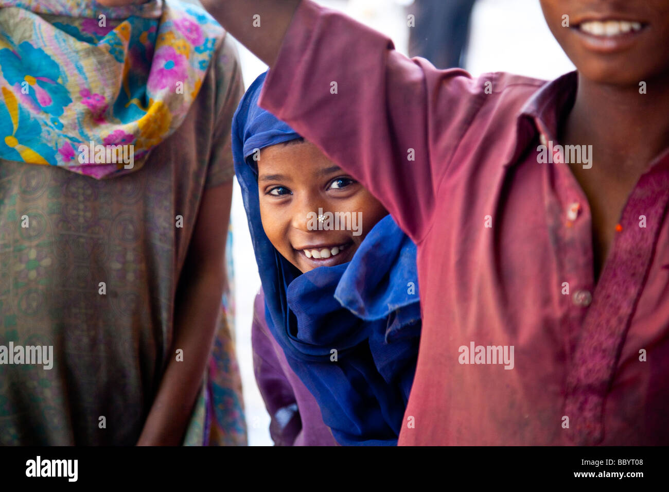 beautiful young muslim girl in delhi india stock photo: 24583112 - alamy