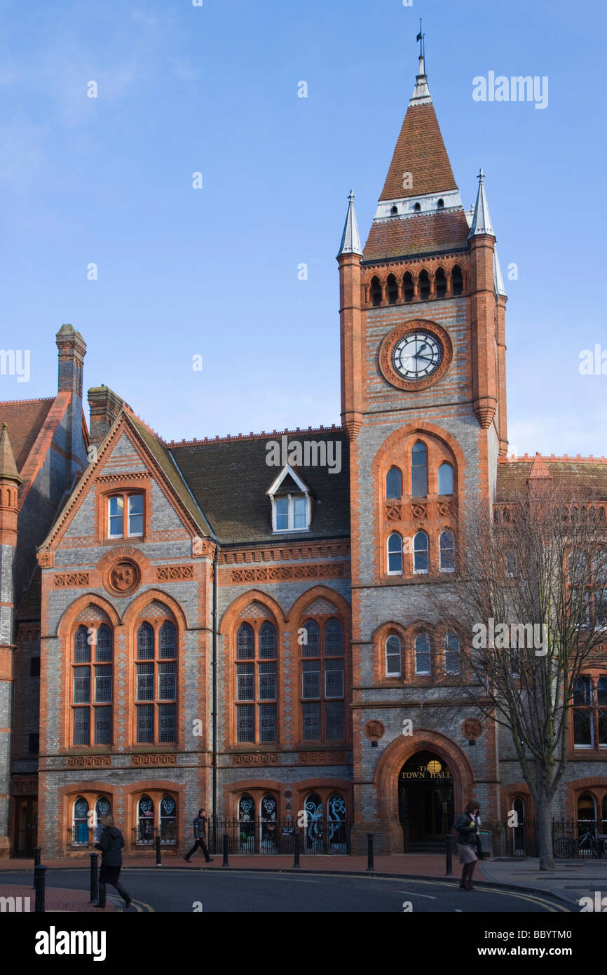 The Town Hall, Friar Street, Reading, Berkshire, United Kingdom, Europe - Stock Image