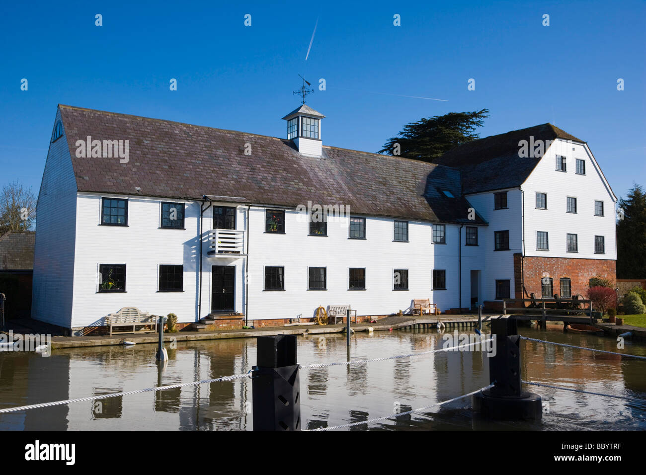 Hambleden Mill downstream of Henley-on-Thames, Oxfordshire, England, United Kingdom, Europe - Stock Image